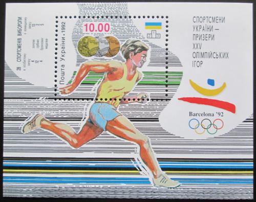 Poštovní známka Ukrajina 1992 LOH Barcelona Mi# Block 2