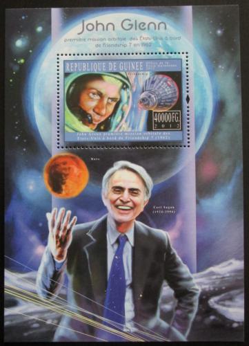Poštovní známka Guinea 2012 John Glenn Mi# Block 2060 Kat 16€