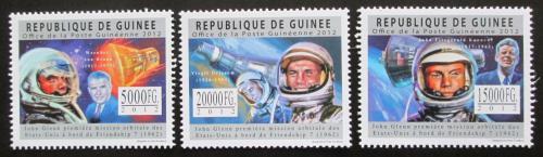Poštovní známky Guinea 2012 John Glenn Mi# 9083-85 Kat 16€