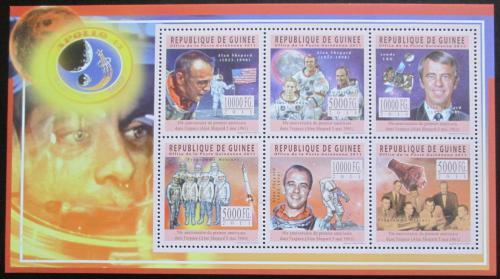 Poštovní známky Guinea 2011 Alan Shepard, Apollo 14 Mi# 8446-51 Kat 18€