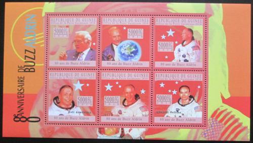 Poštovní známky Guinea 2010 Buzz Aldrin Mi# 7760-65 Kat 12€