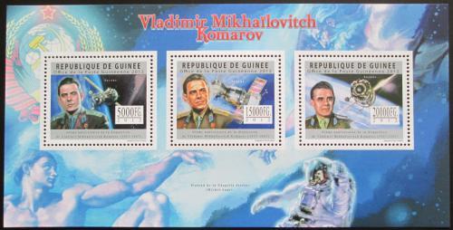 Poštovní známky Guinea 2012 Vladimir Komarov Mi# 9087-89 Kat 16€