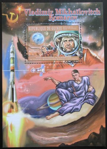 Poštovní známka Guinea 2012 Vladimir Komarov Mi# Block 2061 Kat 16€