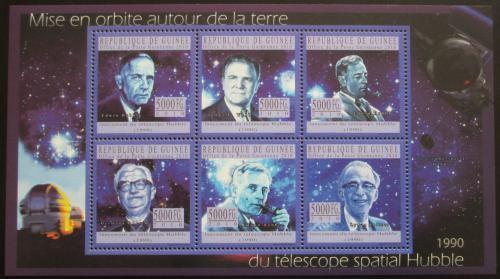 Poštovní známky Guinea 2010 Edwin Hubble, Hubbleùv teleskop Mi# 7619-24 Kat 12€