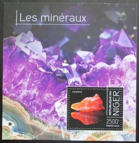 Poštovní známka Niger 2013 Minerály Mi# Block 246 Kat 10€