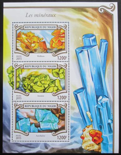 Poštovní známky Niger 2015 Minerály Mi# 3590-92 Kat 14€