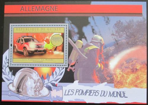 Poštovní známka Guinea 2012 Nìmeètí hasièi Mi# Block 2174 Kat 16€