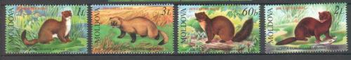 Poštovní známky Poštovní známky Moldavsko 2006 Lasièky Mi# 559-62