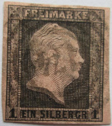 Poštovní známka Prusko 1850 Král Fridrich Vilém IV. Mi# 2 Kat 20€