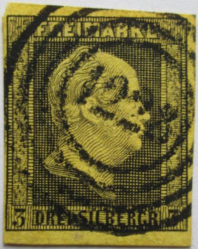 Poštovní známka Prusko 1850 Král Fridrich Vilém IV. Mi# 4 Kat 20€
