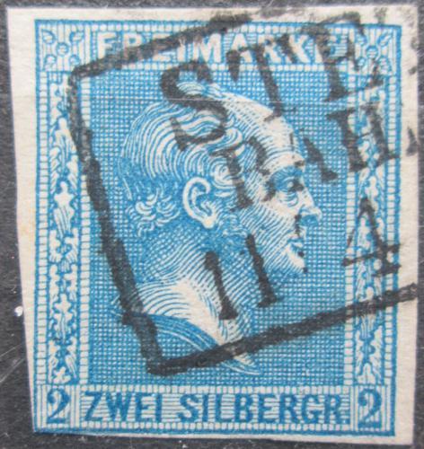 Poštovní známka Prusko 1858 Král Fridrich Vilém IV. Mi# 11 Kat 22€