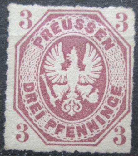 Poštovní známka Prusko 1865 Pruská orlice Mi# 19 Kat 35€