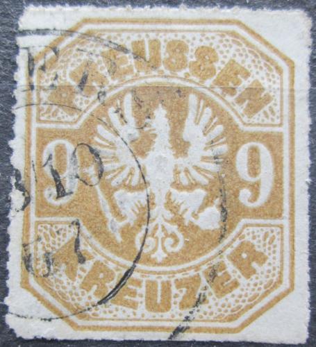 Poštovní známka Prusko 1867 Pruská orlice Mi# 26 Kat 60€