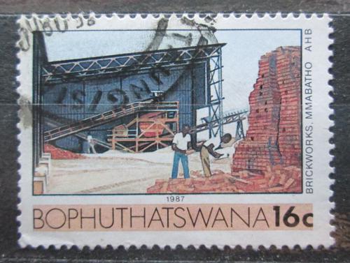 Poštovní známka Bophuthatswana, JAR 1987 Cihelna Mi# 185
