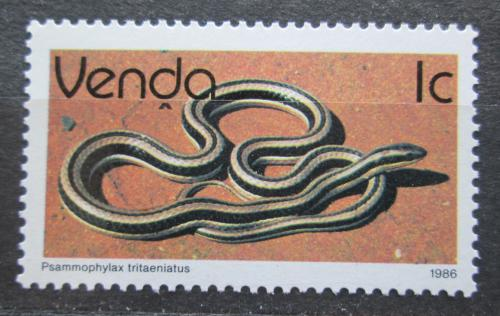 Poštovní známka Venda, JAR 1986 Psammophylax tritaeniatus Mi# 120