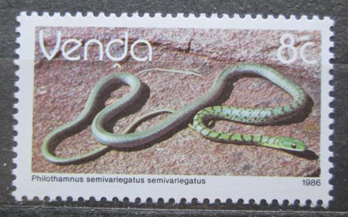 Poštovní známka Venda, JAR 1986 Philothamnus semivariegatus Mi# 127