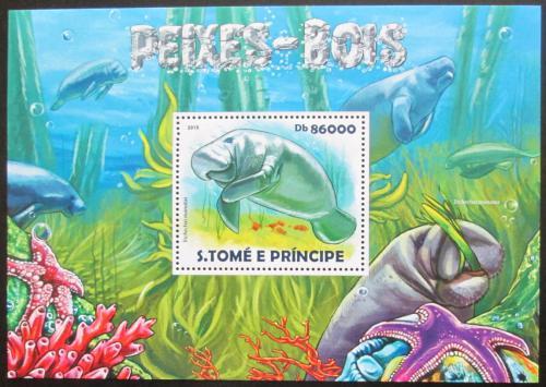 Poštovní známka Svatý Tomáš 2015 Kapustòák Mi# Block 1086 Kat 8.50€