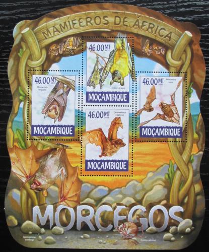 Poštovní známky Mosambik 2015 Netopýøi Mi# 7949-52 Kat 10€