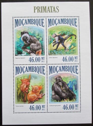 Poštovní známky Mosambik 2013 Opice Mi# 6832-35 Kat 11€