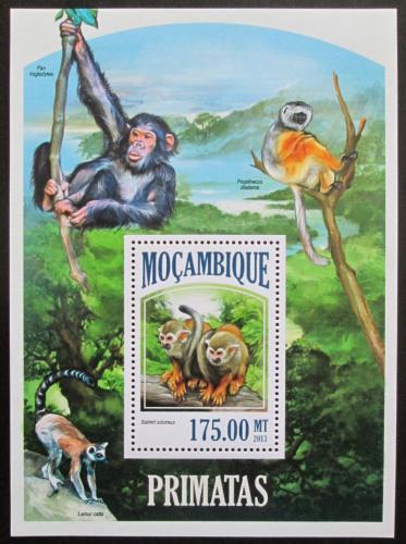 Poštovní známka Mosambik 2013 Opice Mi# Block 806 Kat 10€