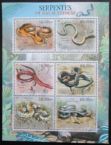 Poštovní známky Mosambik 2012 Hadi Mi# 5754-59 Kat 14€