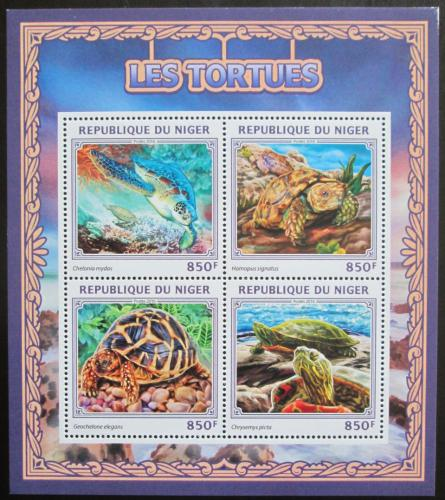 Poštovní známky Niger 2016 Želvy Mi# 4502-05 Kat 13€
