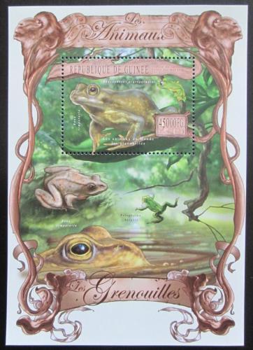 Poštovní známka Guinea 2013 Žáby Mi# Block 2226 Kat 18€