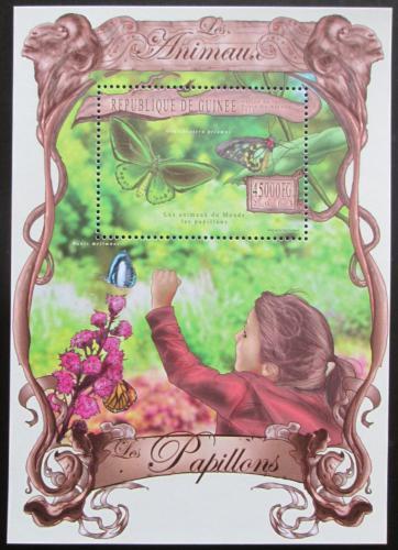 Poštovní známka Guinea 2013 Motýli Mi# Block 2223 Kat 18€