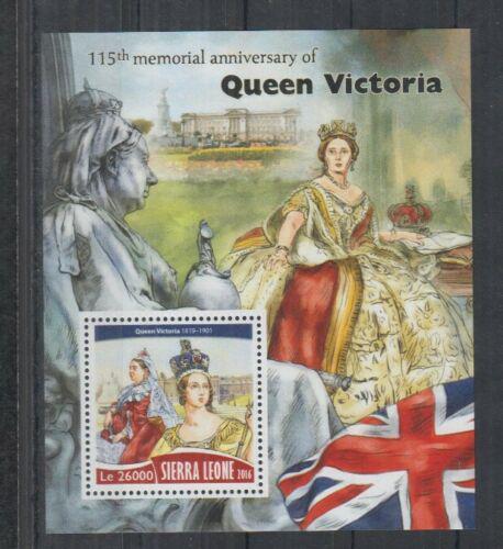 Poštovní známka Sierra Leone 2016 Královna Viktorie Mi# Block 1028 Kat 12€