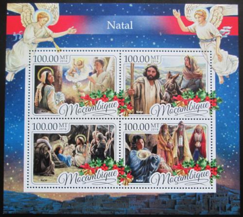 Poštovní známky Mosambik 2016 Vánoce Mi# 8874-77 Kat 22€