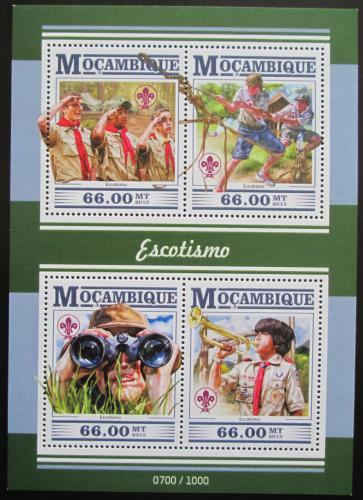 Poštovní známky Mosambik 2015 Skauti Mi# 8234-37 Kat 15€