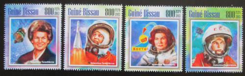 Poštovní známky Guinea-Bissau 2013 Valentina Tìreškovová Mi# 7011-14 Kat 13€