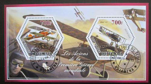 Poštovní známky Èad 2014 Váleèná letadla Mi# N/N