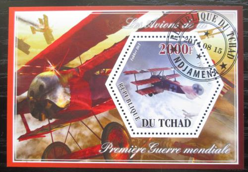 Poštovní známka Èad 2014 Váleèná letadla Mi# N/N