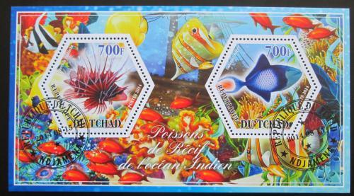 Poštovní známky Èad 2014 Ryby Mi# N/N