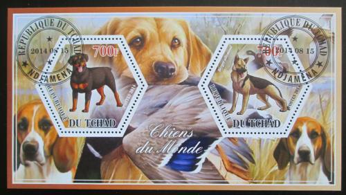 Poštovní známky Èad 2014 Psi Mi# N/N