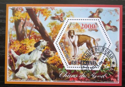 Poštovní známka Èad 2014 Psi Mi# N/N