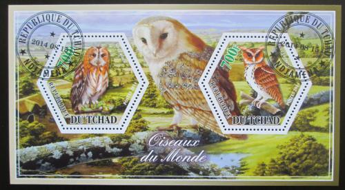 Poštovní známky Èad 2014 Sovy Mi# N/N