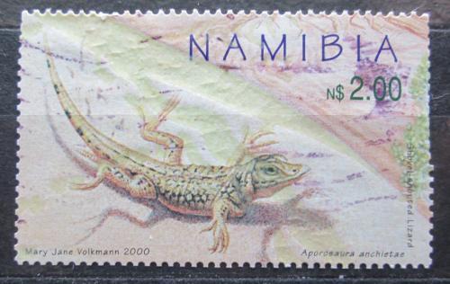 Poštovní známka Namíbie 2000 Aporosaura anchietae Mi# 1020