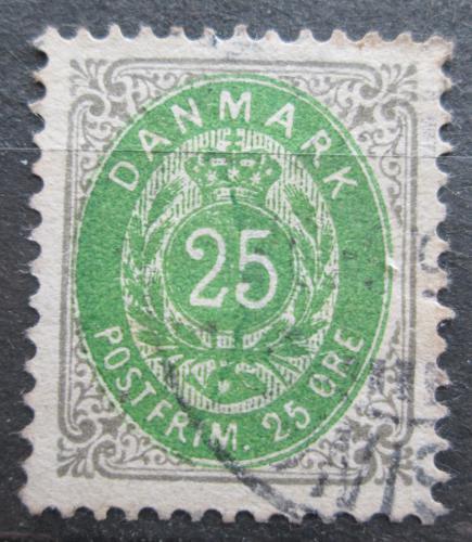 Poštovní známka Dánsko 1898 Nominální hodnota Mi# 29 I Y B Kat 24€