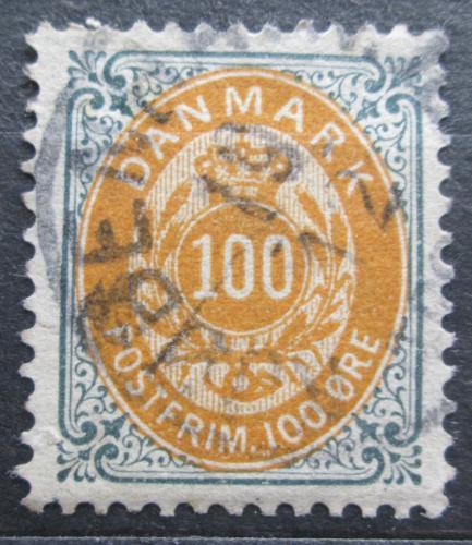 Poštovní známka Dánsko 1895 Nominální hodnota Mi# 31 I Y B Kat 35€