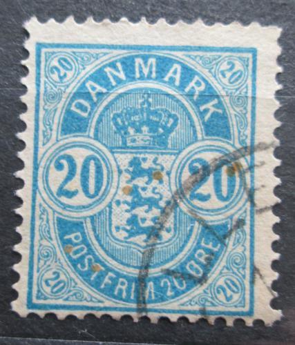 Poštovní známka Dánsko 1884 Státní znak Mi# 36 YA Kat 3.50€