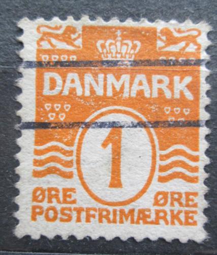 Poštovní známka Dánsko 1905 Nominální hodnota Mi# 42 A