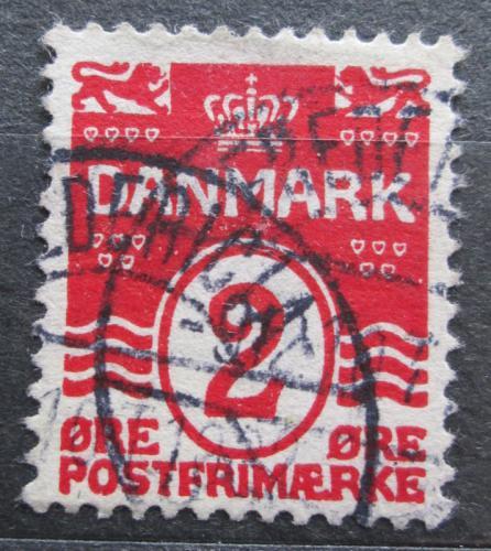 Poštovní známka Dánsko 1905 Nominální hodnota Mi# 43 A