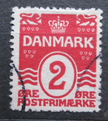 Poštovní známka Dánsko 1917 Nominální hodnota Mi# 43 B Kat 10€