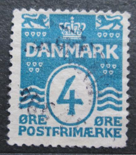 Poštovní známka Dánsko 1917 Nominální hodnota Mi# 45 B Kat 22€