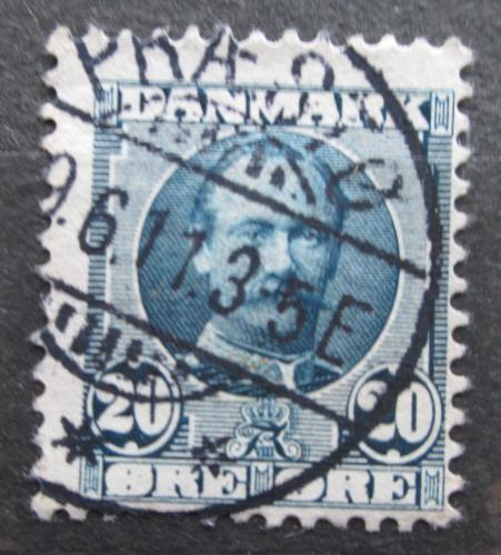 Poštovní známka Dánsko 1907 Král Frederik VIII. Mi# 55 a
