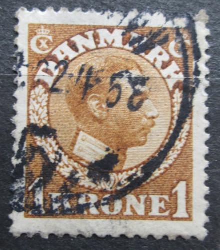 Poštovní známka Dánsko 1913 Král Kristián X. Mi# 75