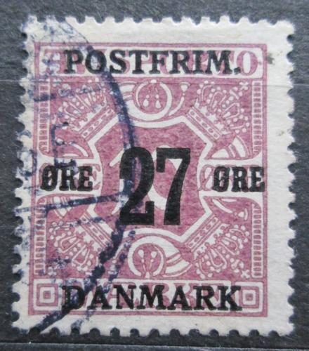 Poštovní známka Dánsko 1918 Novinová pøetisk Mi# 88 Y Kat 7€