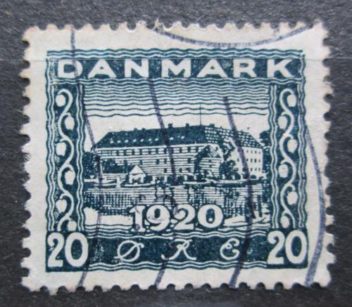 Poštovní známka Dánsko 1920 Zámek Sonderburg Mi# 111